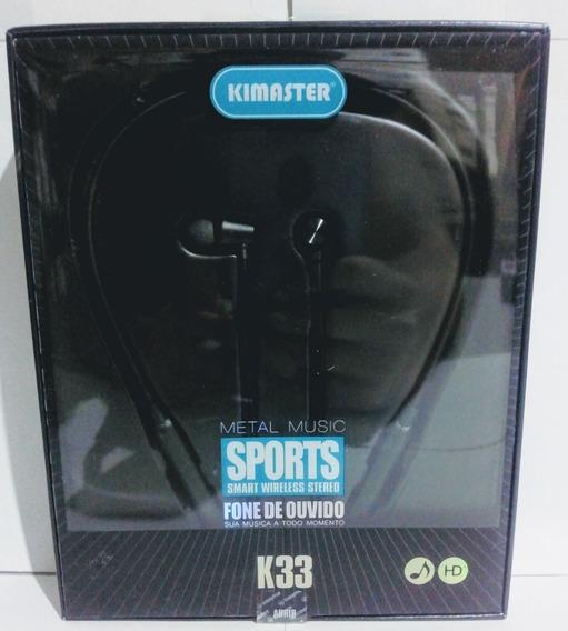 Fone De Ouvido Bluetooth Kimaster K33