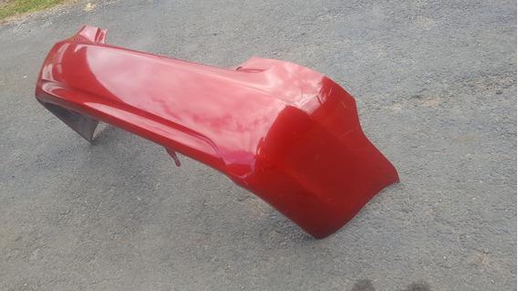 Bumper Trasero Para Toyota Yaris 2009; Color Rojo Usado