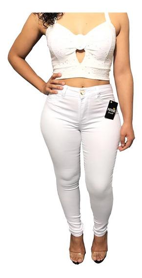 Calça-branca-feminina-skinny-medicina-enfermagem Promoção