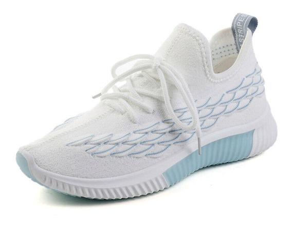 Zapatos Deportivos Cómodos Y Transpirables Con Patchwork