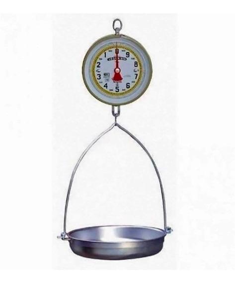 Bascula De Reloj Colgante 10 Kg C/charola Nuevo Leon - 10pza