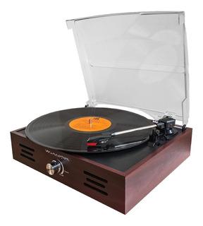 Tocadiscos Winco Original Retro Wincofon Valija Con Parlante Discos Vinilo 33 45 78 Rpm 408 Clásico Vintage Nuevo Modelo
