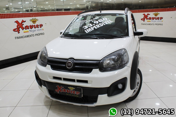 Fiat Uno Way 1.0 4p Flex 2017 Financiamento Próprio 7488