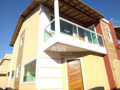 Duplex Alto-padrão, 3 Qtos E 2 Suítes No Jardim Mariléa, Rio Das Ostras/rj - Ca0098