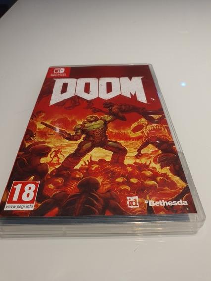 Jogo Doom (mídia Física) Para Nintendo Switch