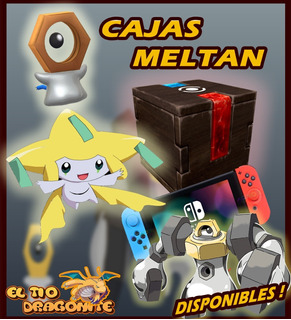 Caja Misteriosa Meltan- Pokémon Go