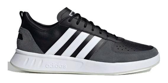 Zapatillas adidas Court 80 Deportivo Negro Hombre Oficial