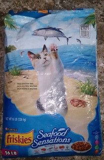 Gatarina Importada Por Saco (friskies, Cat Chow Entre Otras)