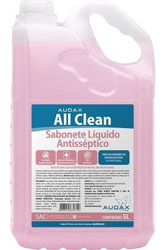 Imagem 1 de 1 de Sabonete Liquido Antisséptico Para Limpeza E Assepsia Das Mãos Com Triclosan Elimina Bactérias E Fungos