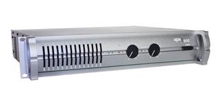 Excelente Amplificador De Potencia Apx 800 Original Tecshow 410w. + 410w. En 4 Ohms X 2 Canales En Cuotas Sin Intereses