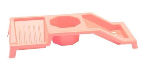 Imagen 1 de 1 de Porta Detergente Organizador Esponja Cocina 31x11.5x5cm Alto