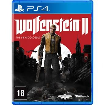 Wolfenstein Ii The New Colossus Playstation 4 Mídia Física