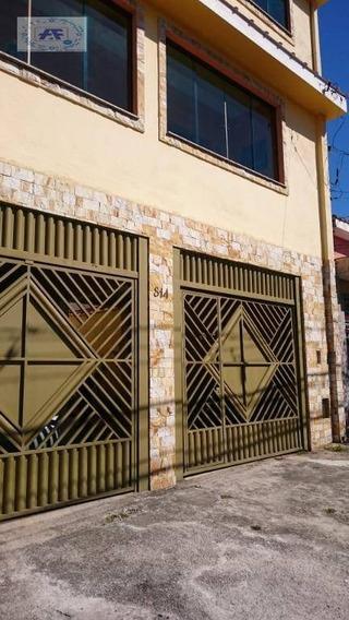 Casa Com 2 Dormitórios Para Alugar Por R$ 950/mês - Itaquera - São Paulo/sp - Ca0014