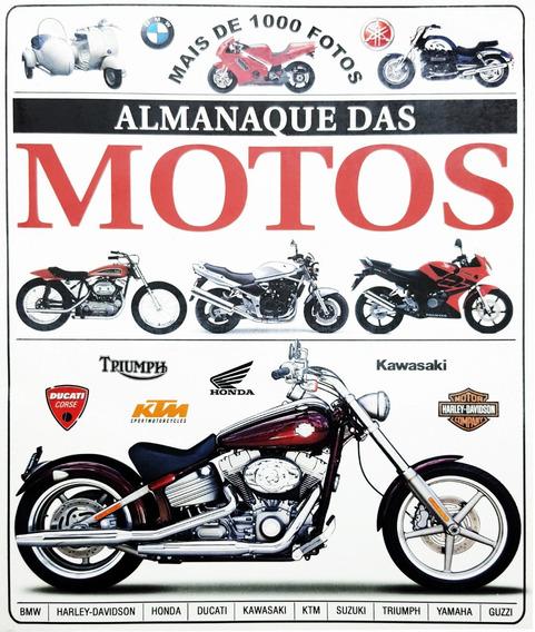 Livro Almanaque Das Motos Honda Ducati Harley Kawasaki Etc