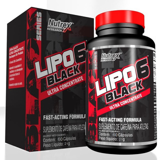 Lipo 6 Black Nutrex 60caps Termogênico Original Nota Fiscal