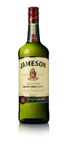 Jameson Whiskey Irlandês - 1l