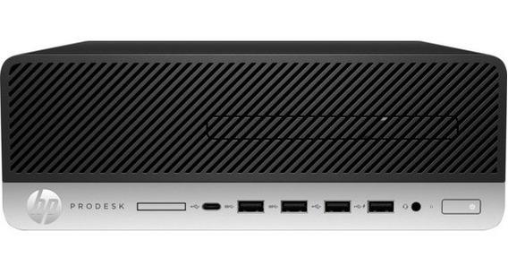 Desktop Hp Prodesk 600 G4 Sff I3 8100t 8gb Ssd240gb W10 Pro