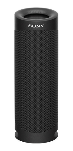 Parlante Sony Extra Bass SRS-XB23 portátil con bluetooth  negro