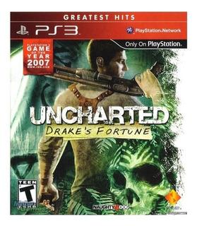 Video Juego Uncharted Drakes Fortune Nuevo Cerrado
