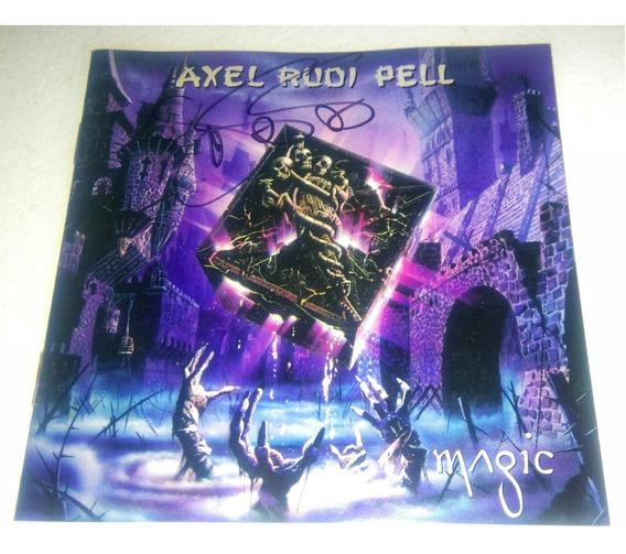 Axel Rudi Pell/magic-autografiado Por Jeff Scott Soto