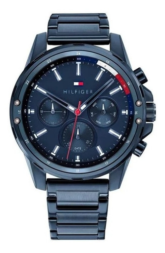 Reloj Tommy Hilfiger Hombre Todo Azul Acero 1791789