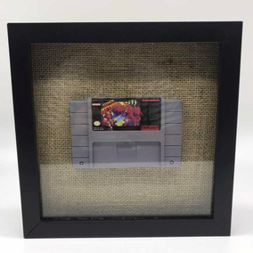 Quadro Super Nintendo 3d Super Metroid