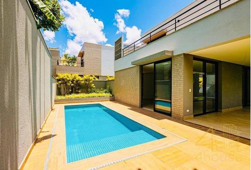 Casa Em Condomínio Fechado, Jardim Privativo Com Piscina, 355 M², 3 Suítes E 4 Vagas. Boulevard Ibirapuera A 850 Metros Do Clube Atlético Monte Líbano - Ca0520
