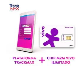 Chip M2m Vivo Com Plataforma De Rastreamento Anual