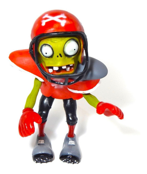 Figura Plantas Vs Zombies Juguete Zombie Football 22cm