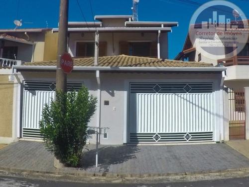 Imagem 1 de 17 de Sobrado Vila Maria Helena Em Indaiatuba Com 3 Dormitorios Sendo 1 Suite - Ca00047 - 67695759