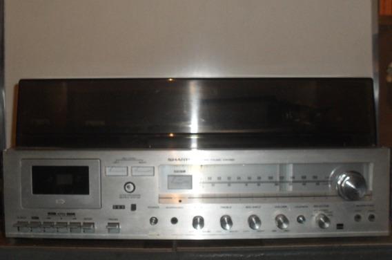Todas As Peças E Partes Do Som Antigo Sharp Sg-220
