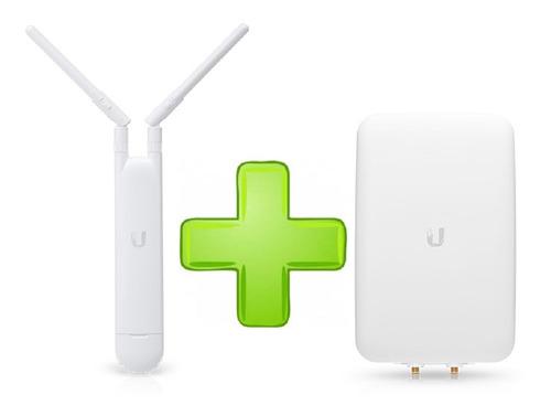 Imagen 1 de 6 de Kit Access Point Uap-ac-m + Antena Direccional Uma-d