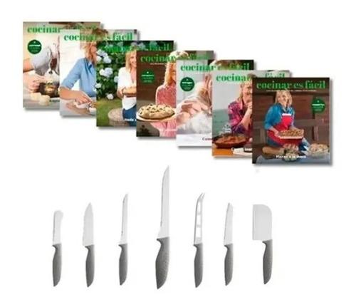Imagen 1 de 7 de Clarín Colección Cocina Fácil Set 4 De 7 Cuchillos