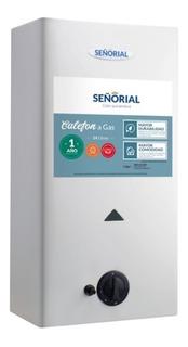 Calefon 14 Lts Señorial Gas Envasado Y Natural - Luico