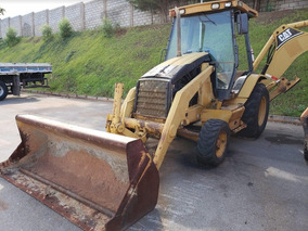 Retroescavadeira Caterpillar 416d 2004