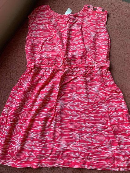 Vestido Corto Rosa Con Tachas Blancas Mujer Forever 21