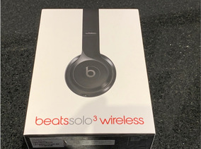 Fone Beats Solo 3 Wireless - Original Novo