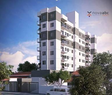 Imagem 1 de 2 de Apartamento À Venda, 42 M² Por R$ 265.000,00 - Santa Maria - Santo André/sp - Ap1235