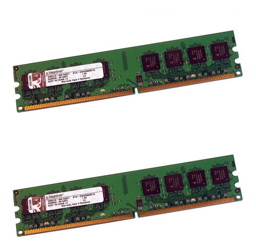 Memoria Ram Kingston Ddr2 533 Mhz 512 Mb X 2