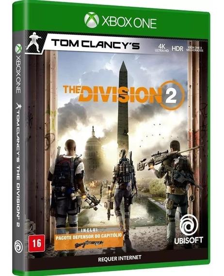 Jogo Mídia Física Tom Clancys The Division 2 Xbox One Novo