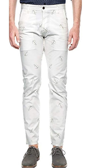 Dockers Jeans Hombre Alpha Collection Pantalon Blanco 34x34