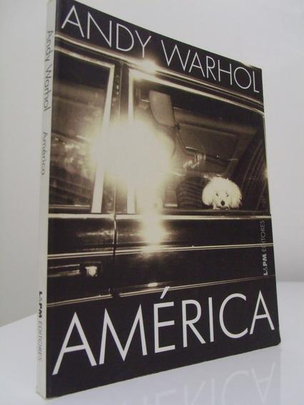 Livro - América - Andy Warhol - Novo!
