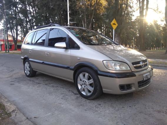 Chevrolet Zafira, Techo, Cuero, Gnc, La Mas Full