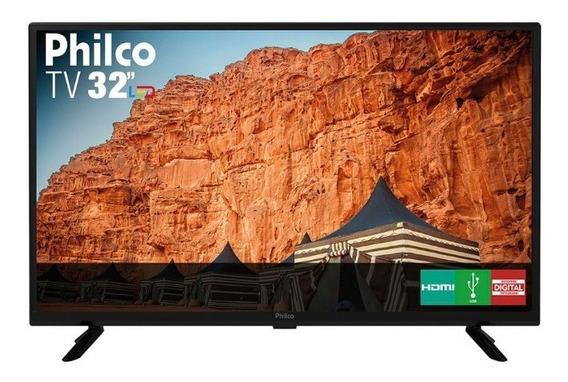 Tv 32 Philco Led Hd Ptv32g50d Preta Bivolt Pix90