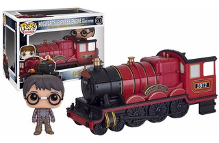 Hogwarts Express Engine With Harry Potter Funko Pop Rides
