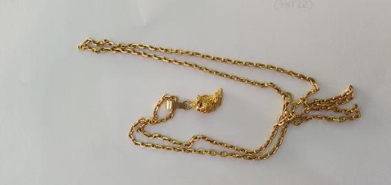 Cordão De Ouro 18k 12gm