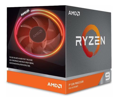 Processador Amd Ryzen 9 3900x 12 Cores 3.8ghz, 4.6ghz Turbo