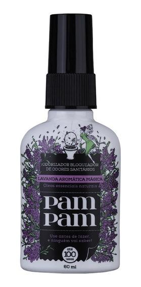 Bloqueador De Odor Sanitário Pampam Lavanda Aromática 60 Ml