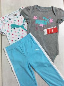 c04b5694809 Conjunto Infantil Puma (roupa De Bebê) Novo