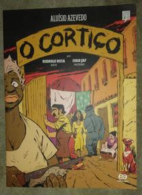 Livro O Cortiço Em Quadrinhos - Aluísio Azevedo